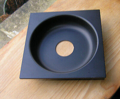 Sinar F & P fit recessed 25mm lens board panel with copal compur 0 hole