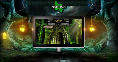 "WEBSITE / SITO WEB ""THE FOREST KEYS"" IN VENDITA • eCommerce/Game • ESCLUSIVO"