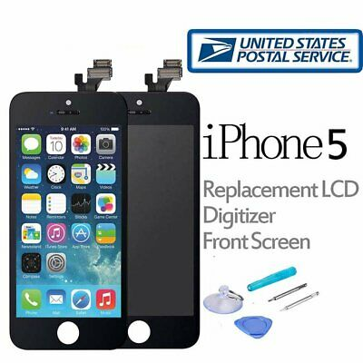 For iPhone 5C LCD Touch Screen Digitizer Replacement Front Glass Assembly Black