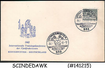 Germany - 1963 International Training Conference Of Girl Scouts Special Cover Wi