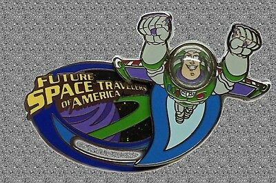 DISNEY Pin LE 500 - Space Travelers Club Buzz Lightyear - Pin Trading University