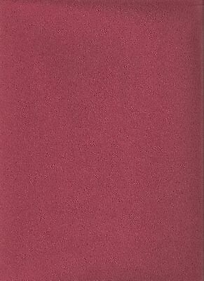 "1/12  DOLLS HOUSE SELF ADHESIVE CARPET 10""(25cm) x13""(33cm) DARK RED BURGUNDY"