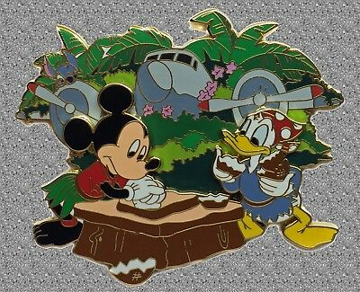 DISNEY Pin LE 500 DCL - Stitch's High Sea Adventure - Great Landing JUMBO Pin
