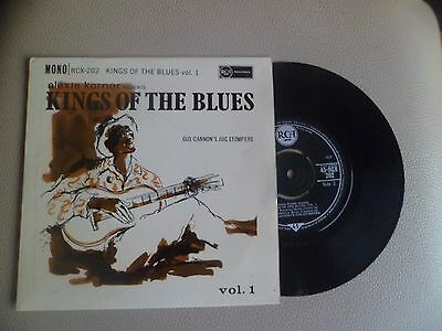 King Of The Blues 4 Track Ep Vol 1 - Gus Cannon's Jug Stompers  - 1960's Rca  Ex