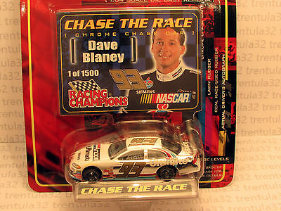 1/1.5 k CHROME CHASE THE RACE #93 AMOCO Dave Blaney car Racing Champions