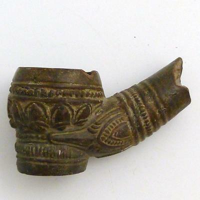 17th/18th CENTURY BURMESE CLAY PIPE