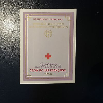 France Carnet Croix Rouge Red Cross 1958 N°2007 Neuf ** Luxe Mnh