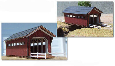"Z-scale building Stonebridge Models Z Covered Bridge ""Ohio"""