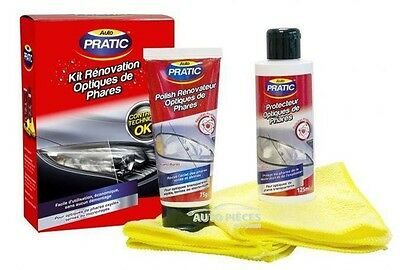 Kit Renovation Optiques De Phare Auto Pratic