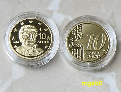 Griechenland 2016 -10 Cent  aus KMS in PP,PROOF