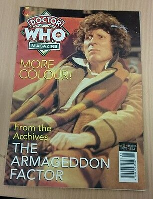 Vintage Doctor Who Magazine - Issue 223 - 15th March 1995 - (LC)