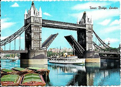 MV Royal Sovereign GSN Eagle Steamers Tower Pier Postcard Pleasure Steamer