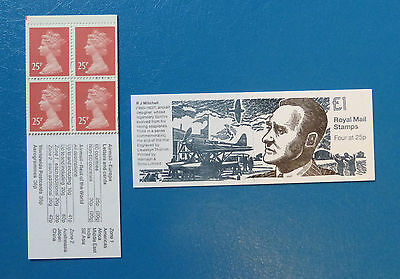 Gb Stamp Booklet Fh38 :: R J Mitchell