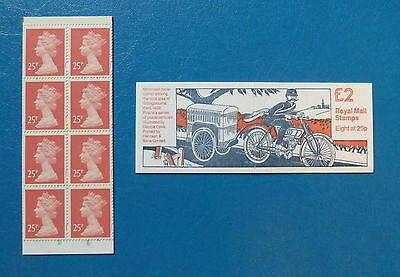 Gb Stamp Booklet Fw1 :: Postal Vehicles 1