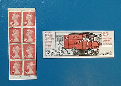 Gb Stamp Booklet Fw3 :: Postal Vehicles 3