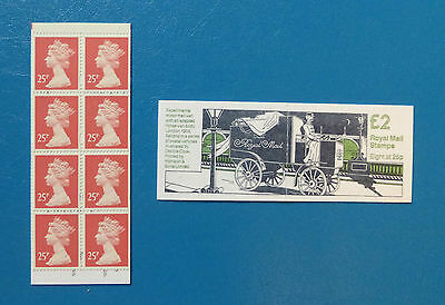 Gb Stamp Booklet Fw2 :: Postal Vehicles 2