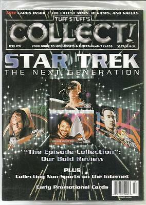 Tuff Stuff's Collect April 1997 Your Guide to Non-Sports & Entertainment Cards