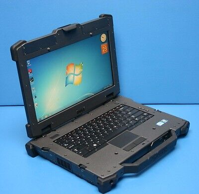 DELL E6420 RUGGED XFR Laptop-Core i5-2540M@2.60GHz-8GB-500GB HDD-AC-Win7!!!