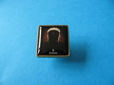 Guinness Rugby Player Pint Pin Badge, VGC.