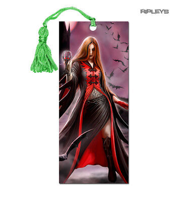ANNE STOKES 3D Bookmark Gothic Fantasy Angel Vampire Bats 'Blood Moon' #9