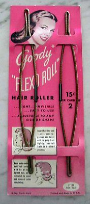 1940s Retro Vintage Hair Roller Curler 40s Dress Homefront WWII Pinup