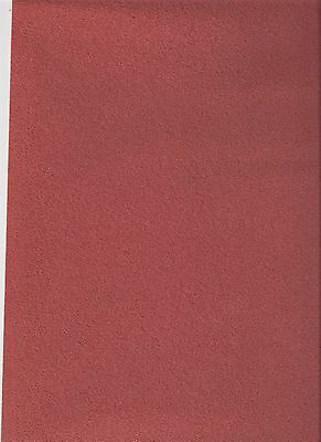 "1/12TH  DOLLS HOUSE SELF ADHESIVE CARPET 10""(25cm) x13""(33cm) RUSSET BROWN"