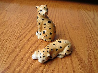 Vintage Takahashi Leopard Salt and Pepper Shakers