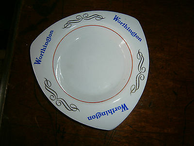1950s WORTHINGTON Ashtray BREWERIANA BEER COLLECTABLE