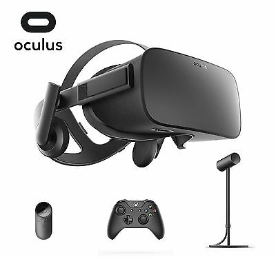 Oculus Rift Virtual Reality Headset+Remote+Sensor for VR+Wireless Controller