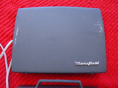Vintage Mansfield Customatic Model 331 8mm Home/Family Film Projector~Powers Up