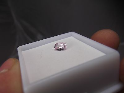 .35cts NATURAL PINK TOPAZ GEMSTONE CUSHION OVAL