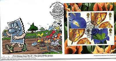 2004 Glory Of Garden Great Britain 'phil Stamp' 65 Official Ilus. Fdc 71/100 Vgc
