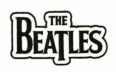 """The Beatles"" Classic Name Logo English Rock Music Band Iron On Applique Patch"