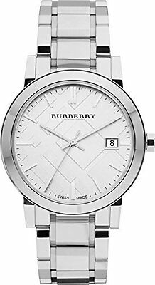 Burberry Silver Dial Stainless Steel Quartz Men's Watch BU9000