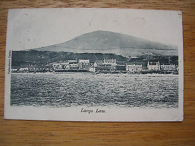 Largo Law And Village From The Sea, P/m 1903