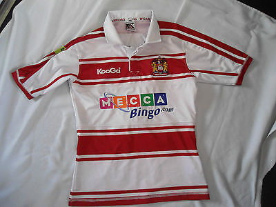 Wigan Warriors Rugby League Shirt Med
