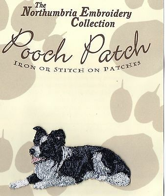 Border Collie  EMBROIDERED  Pooch Patch