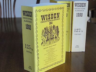SPECIAL OFFER:Wisden Cricketers' Almanack 1988 Linen Covers FINE condition