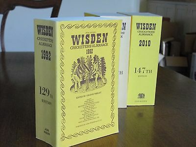 SPECIAL OFFER:Wisden Cricketers' Almanack 1992 Linen Covers FINE condition