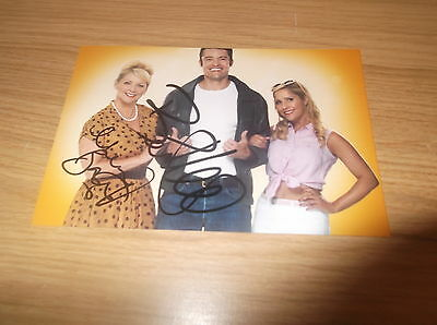 Happy Days the Musical Ben Freeman and Cheryl Baker Hand Signed 6x4 photo