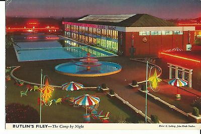 Butlins Filey The Camp Bye Night John Hinde Ltd 3F60 Pc