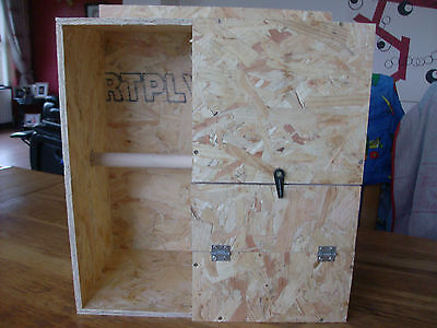 Extra Large Aviary Nest Box With Porch For Breeding - Alexandrine,pennant,parrot