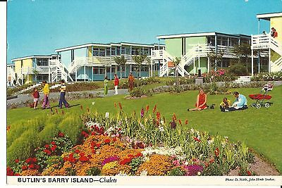 Butlins Barry Island The Chalets  John Hinde Ltd 3By19 Pc