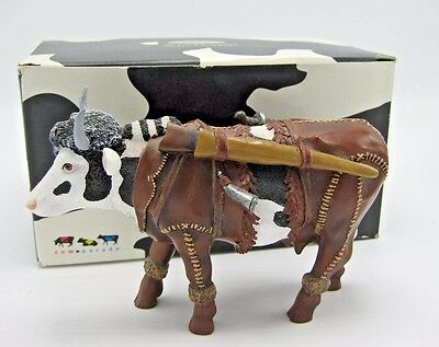 Cows on Parade Dairy Crockett Retired Figurine