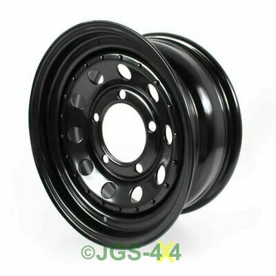 Land Rover Defender Discovery Modular Steel 16x7 Wheel Black - GRW006