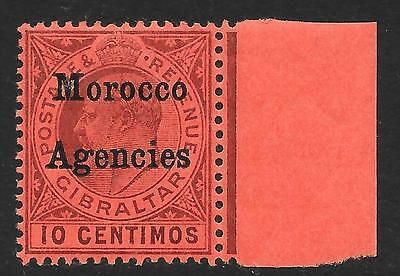 Morocco Agencies 1903 10c Dull Purple/Red SG 18 (Mint)