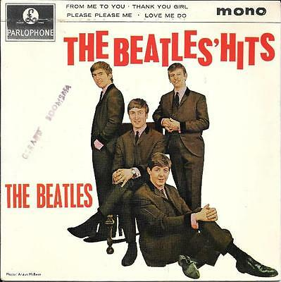 The Beatles 45 Ep The Beatles Hits+Ps England Rare