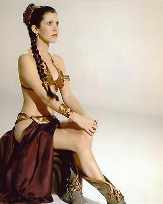 """Carrie Fisher 10"""" x 8"""" Photograph no 3"""