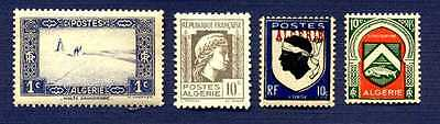 Algeria #79, 172, 208, 210-Group Of 4-Mnh