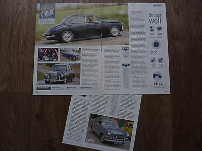 MG MAGNETTE - Classic Buying Guide Article